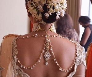 beautiful, indian, and wedding image