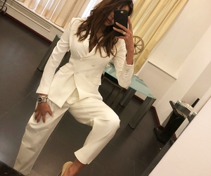 fashion, suit, and white image