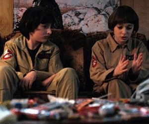 stranger things, finn wolfhard, and will byers image