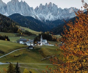 Alps, autumn, and fall image