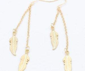 earring, jewelry, and trend image
