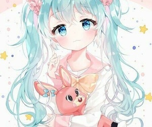 hatsune miku, vocaloid, and anime image