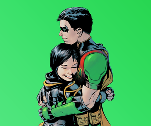 batgirl, robin, and dc comics image