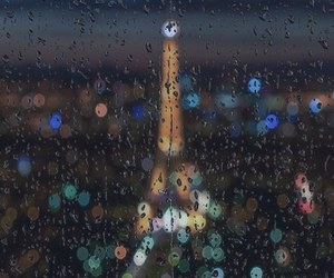 paris, rain, and city image