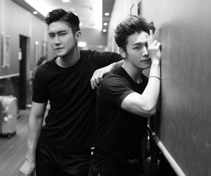 donghae, super junior, and siwon image