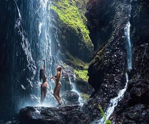 travel, girls, and nature image