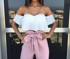 chic, style, and fit girl image