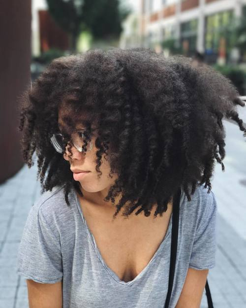 article and hair afro natural image