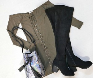 autumn, blouse, and fashion image