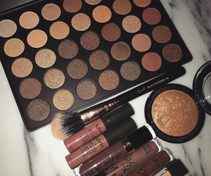 makeup, beauty, and NYX image