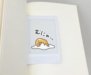 book, white, and gudetama image