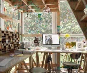 bedroom, craft room, and goals image