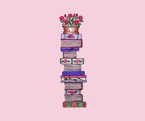 book, wallpaper, and pink image
