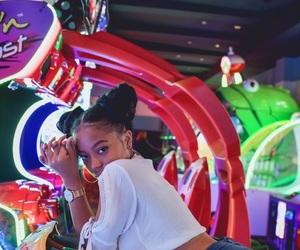 arcade, girl, and sexy image