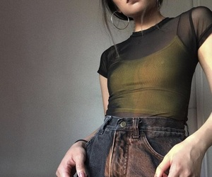 girl, outfit, and ootd image