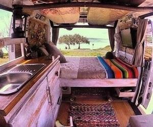 vans, travel, and adventure image