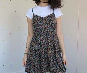 dress, grunge, and style image