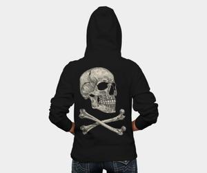 bones, skull, and dbh tees image