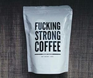 coffee, strong, and grunge image
