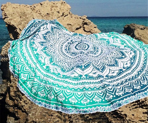 hippie-tapestry, sheets-pillowcases, and mandala-bedspread image