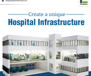 hospital designers, hospital infrastructure, and hospital space planning image