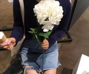 clothes, fashion, and flower image