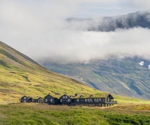 farm, green, and iceland image
