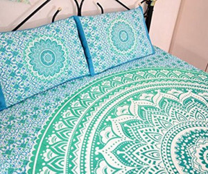 home decor, wall tapestry, and mandala tapestry image