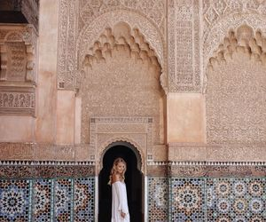 travel, morocco, and dress image
