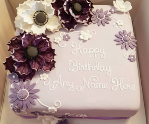 name on cakes, birthday cake for girls, and birthday cakes for girls image