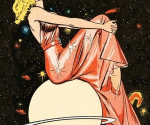 art, space, and woman image