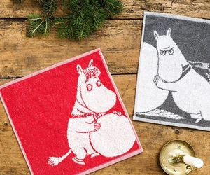 flannel, face cloth, and moomintroll image