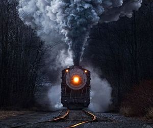 smoke, fashom, and train image