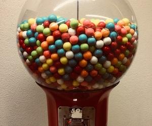 blue, bubble, and bubble gum image