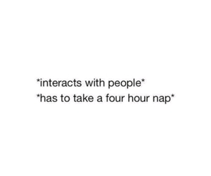 tumblr, introvert, and nap image