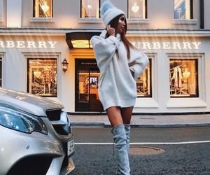 elegance, fashion, and mercedes image