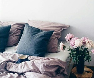 bedroom, cozy, and boho image
