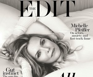 magazine cover, michelle pfeiffer, and the edit image