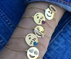 emoji, bracelet, and emojis image