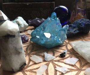 aqua, aura, and blue image
