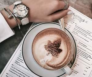 bonjour, cafe, and trefle image