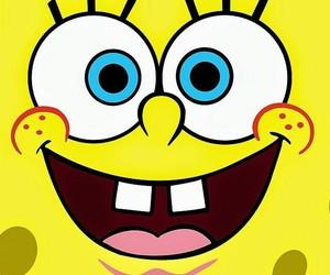 spongebob, yellow, and background image