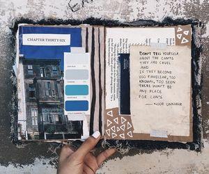art journal, journaling, and journal image