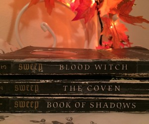 books, witch, and magic image