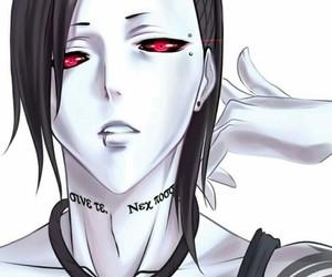 uta, tokyo ghoul, and anime image