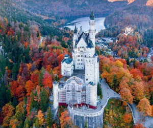 adventure, autumn, and germany image