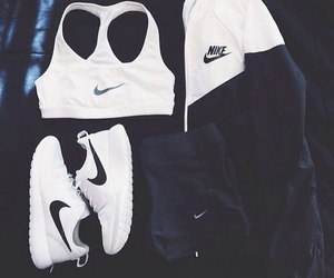 chic, gucci, and nike image