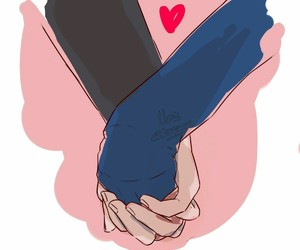 hands, kpop, and art drawing image