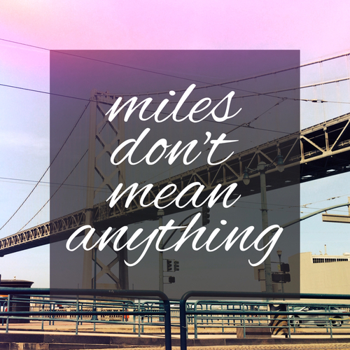 miles, love, and quotes image
