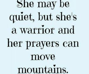 warrior, mountains, and quote image